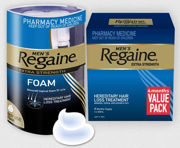 Regaine Product Range