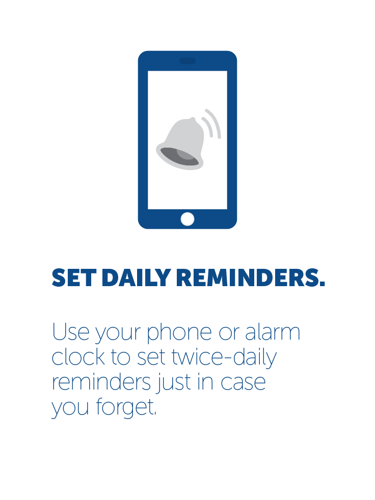 Set daily reminders