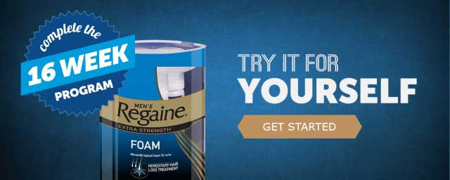 Try Regaine Products today